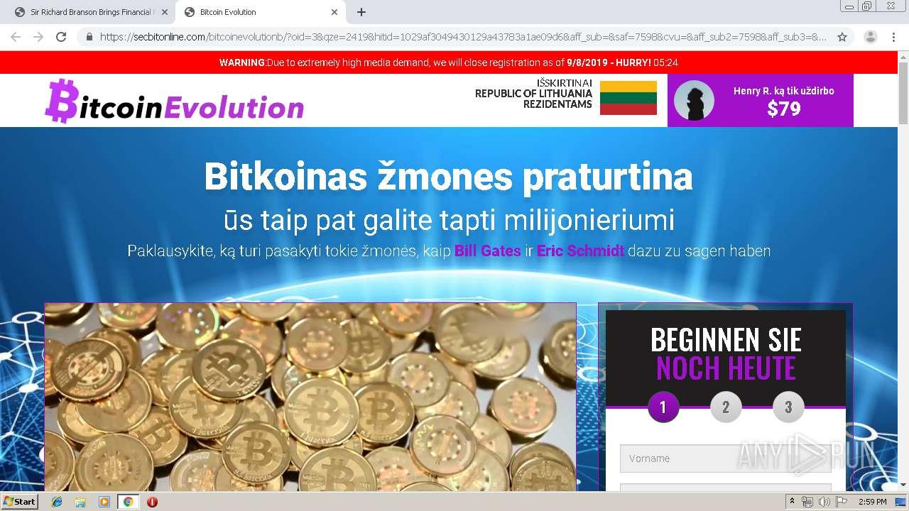 bitkoinas ar milijonieriumi jus 1