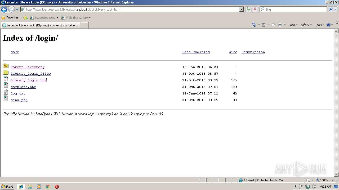 http://www login ezproxy3 lib le ac uk ezplog in | ANY RUN