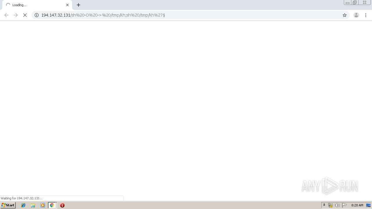 Screenshot of unknown taken from 133154 ms from task started