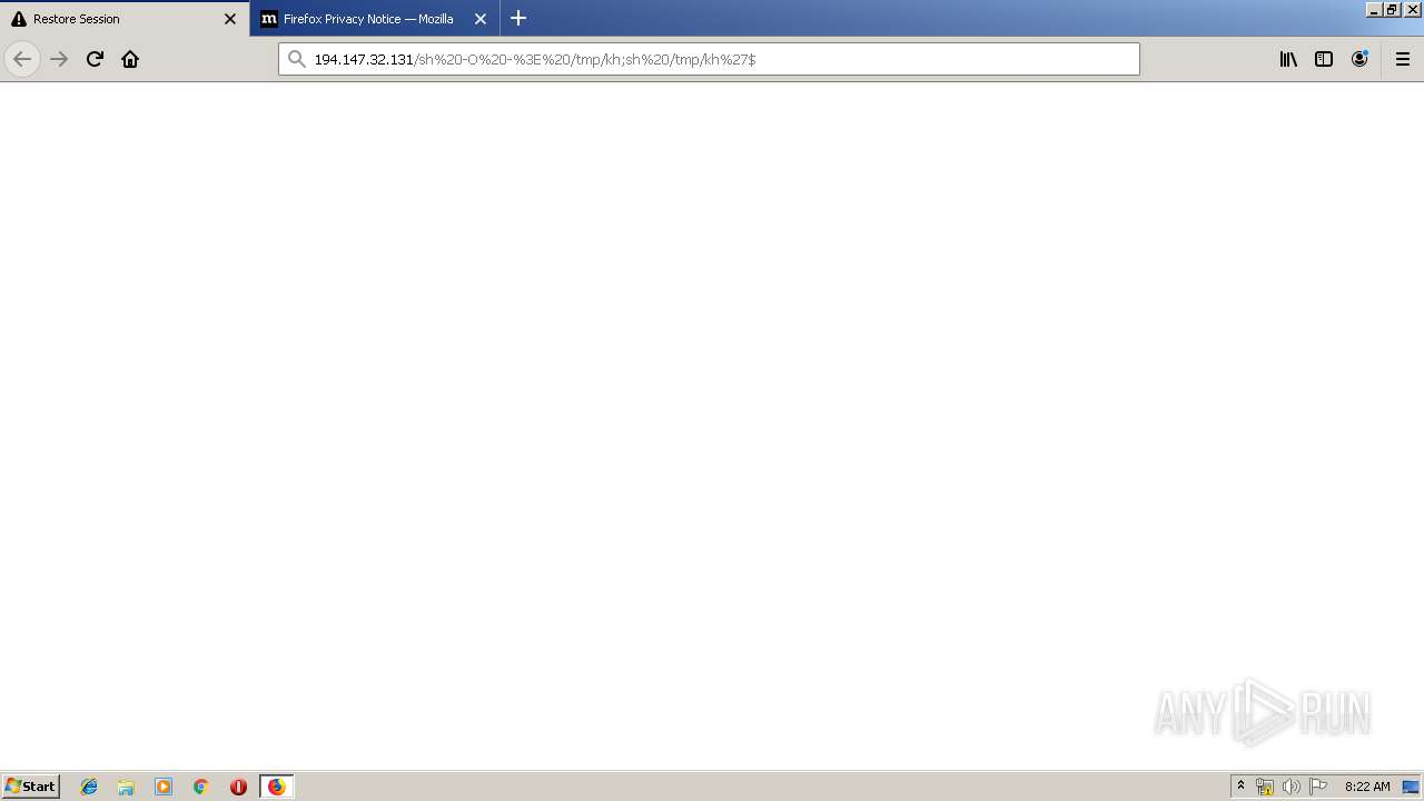 Screenshot of unknown taken from 224704 ms from task started
