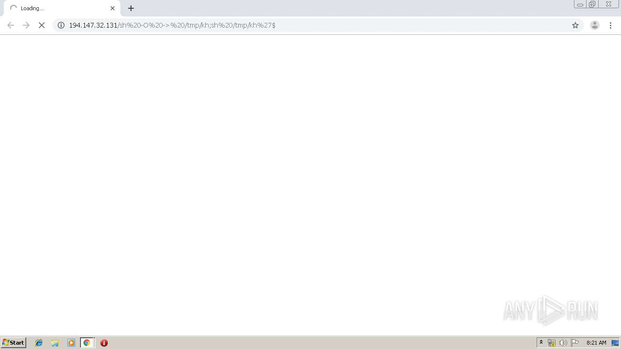 Screenshot of unknown taken from 166302 ms from task started
