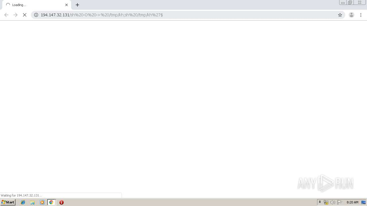 Screenshot of unknown taken from 129148 ms from task started