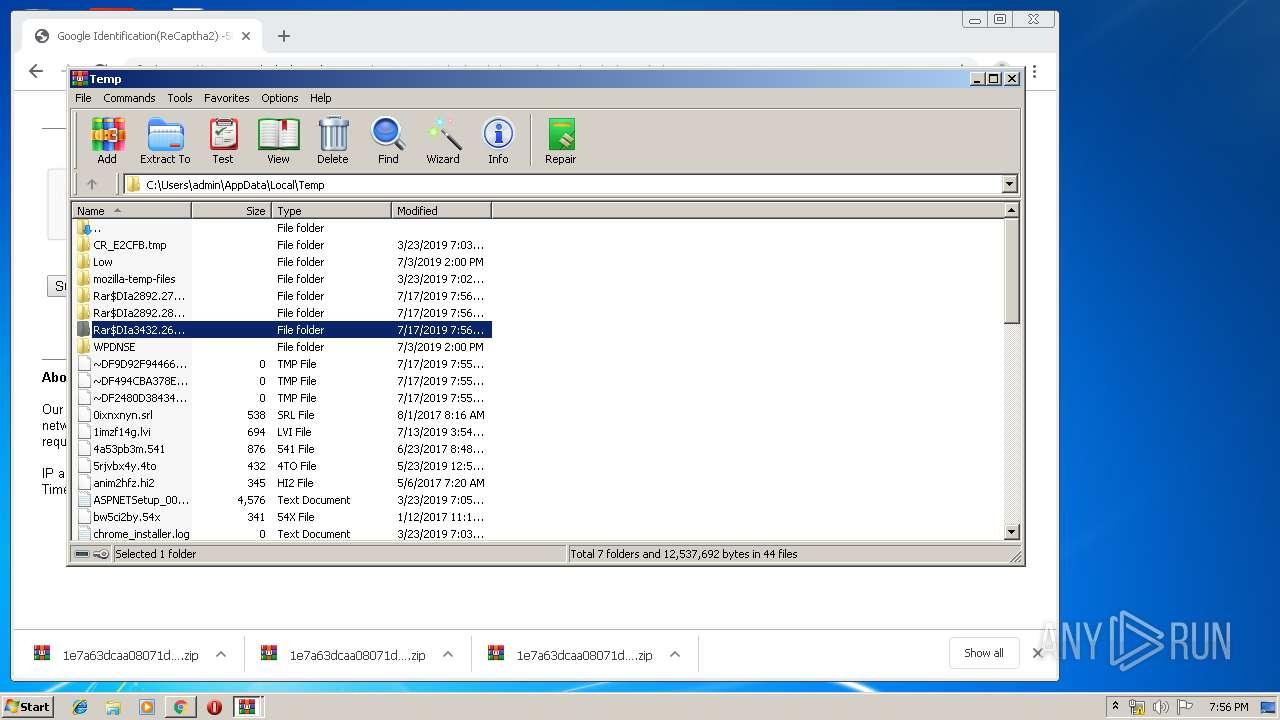 Screenshot of 847db0dbdc9aecdddac9527c542ad8941dc46653f1b50d22daa183656b267f1d taken from 100153 ms from task started