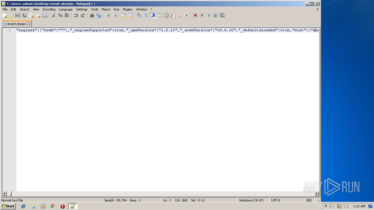 Screenshot of unknown taken from 150622 ms from task started