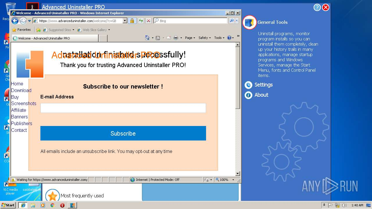 free advanced uninstaller pro 9.6