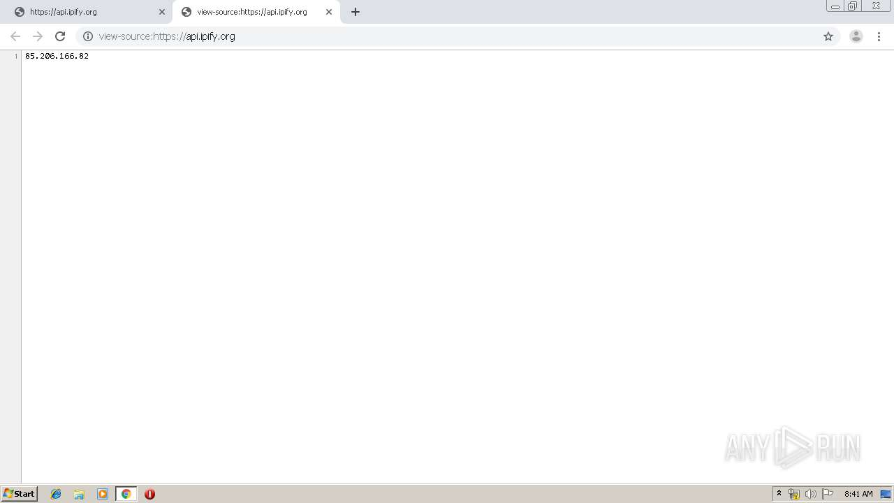 Screenshot of unknown taken from 85804 ms from task started