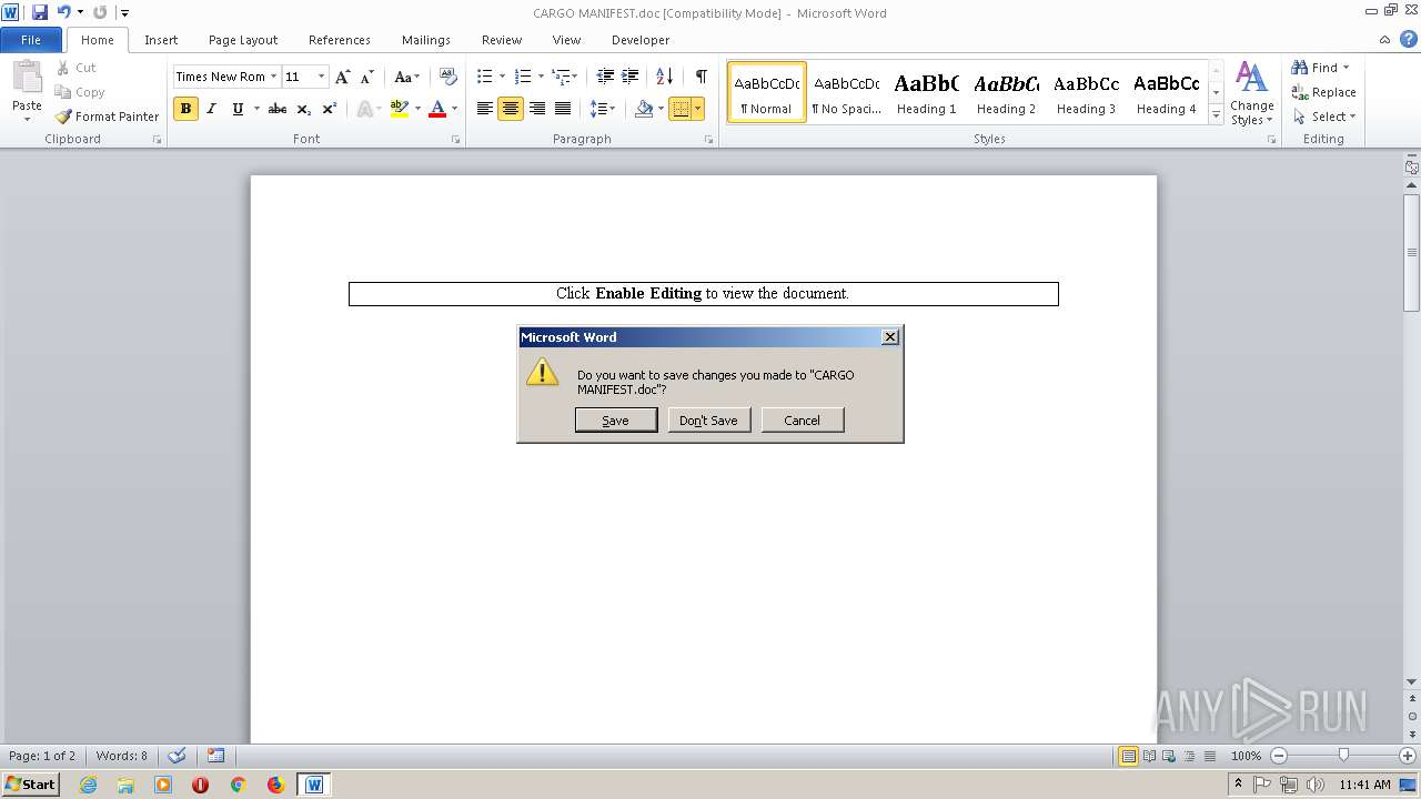 Screenshot of ca8ebccb3b453c8dcef9bb762e63f2b7e3840bffa7056b55941fe5b23f846d1c taken from 56131 ms from task started
