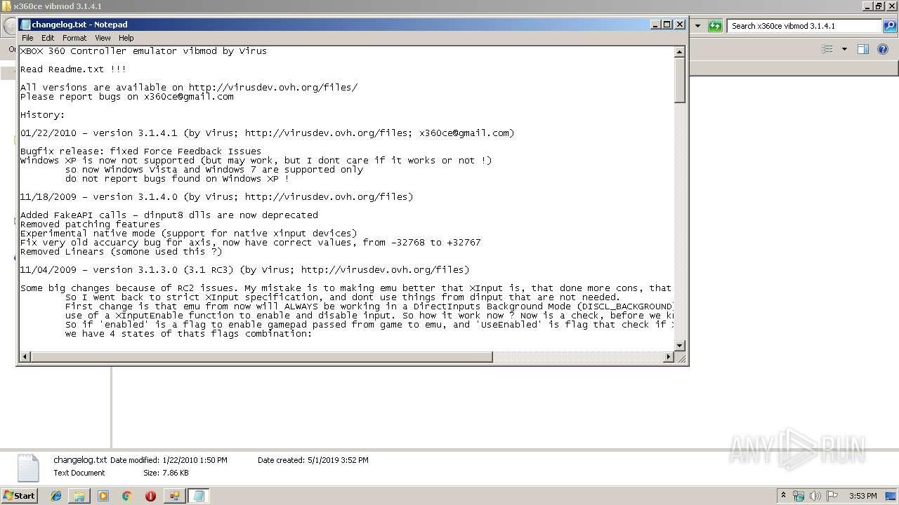 VIBMOD TÉLÉCHARGER 3.1.4.1 X360CE