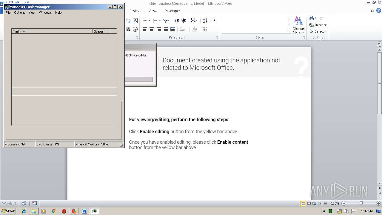 Screenshot of unknown taken from 307614 ms from task started