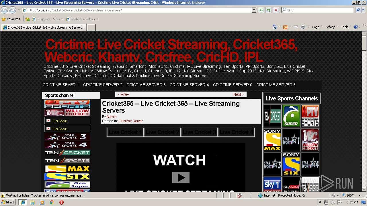 Http Tvcric Info Cricket365 Live Cricket 365 Live