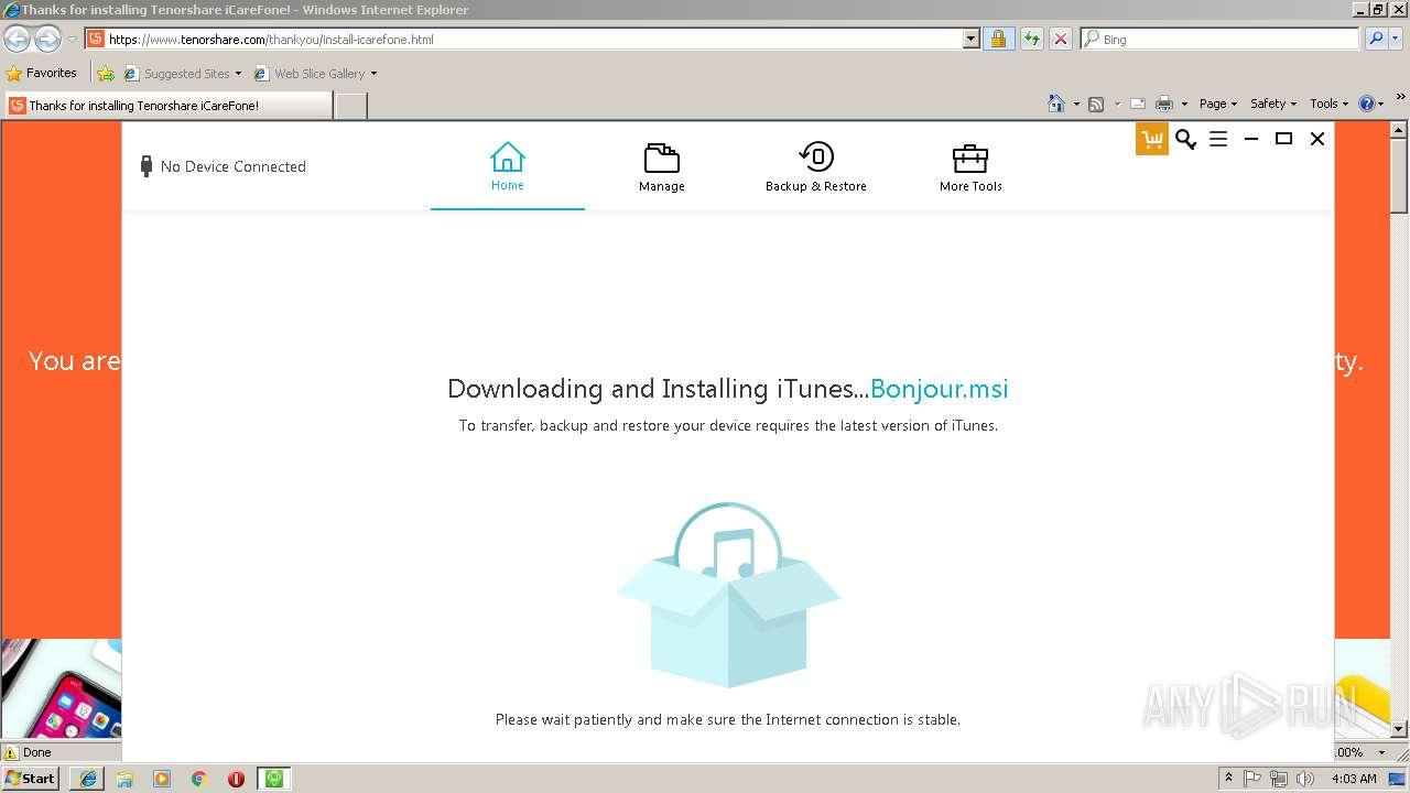 http://dl.tenorshare.net/iCareFonetrial_ts_en.exe | ANY.RUN - Free