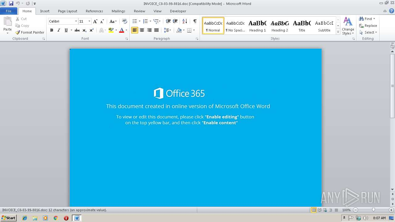 Screenshot of f5157bb10f4869655706640c47f5dedd2a97a8ffd49284fff261427521f66beb taken from 19409 ms from task started