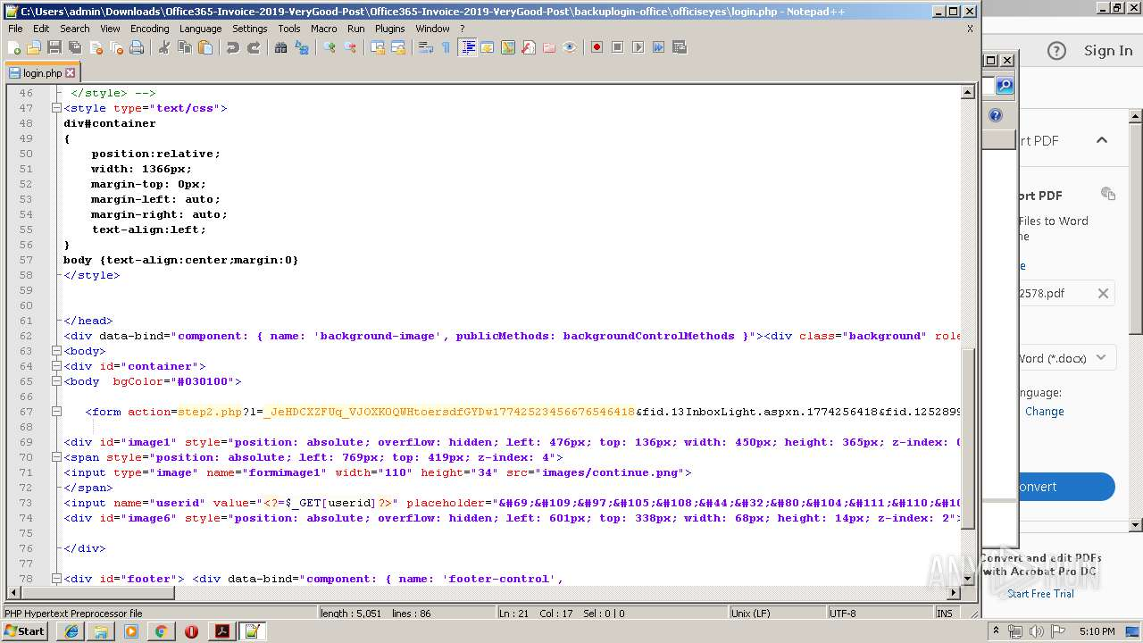 Screenshot of 31f0bf0454dd2cdf4ead5ff24f2103f47c18bf7c5b8bd565d0d9bb5dfc045b3a taken from 175905 ms from task started