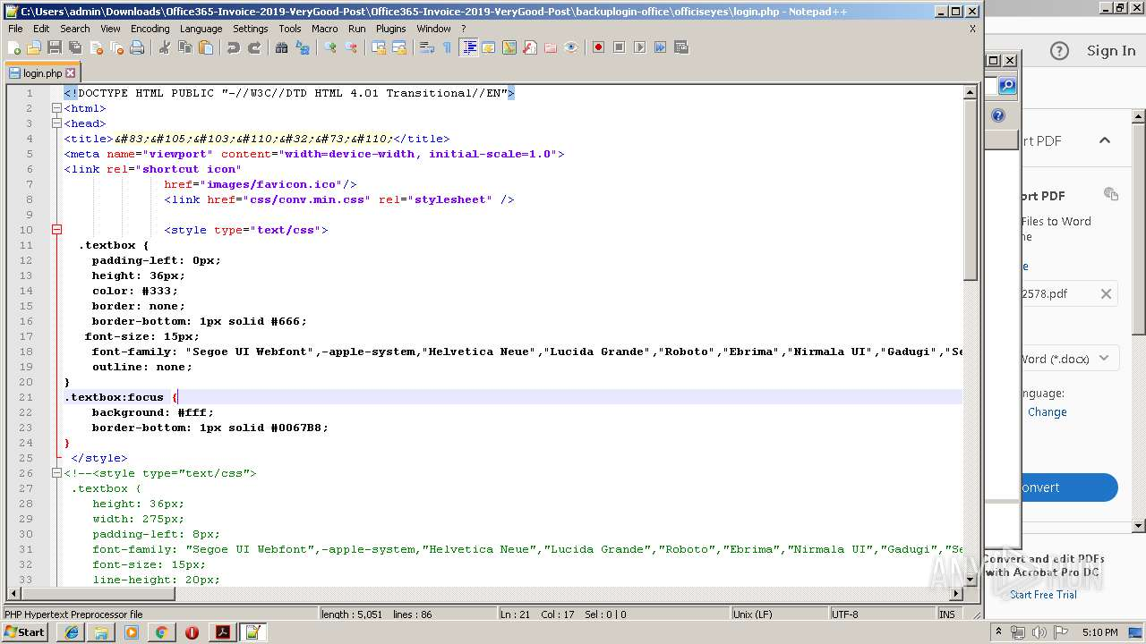 Screenshot of 31f0bf0454dd2cdf4ead5ff24f2103f47c18bf7c5b8bd565d0d9bb5dfc045b3a taken from 185458 ms from task started