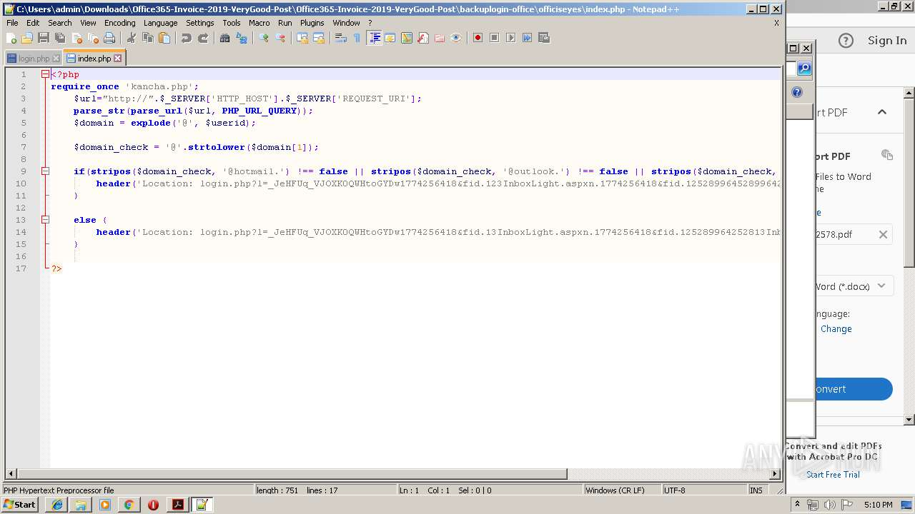 Screenshot of 31f0bf0454dd2cdf4ead5ff24f2103f47c18bf7c5b8bd565d0d9bb5dfc045b3a taken from 194520 ms from task started