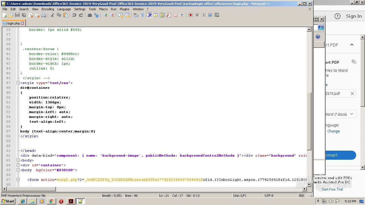 Screenshot of 31f0bf0454dd2cdf4ead5ff24f2103f47c18bf7c5b8bd565d0d9bb5dfc045b3a taken from 179916 ms from task started