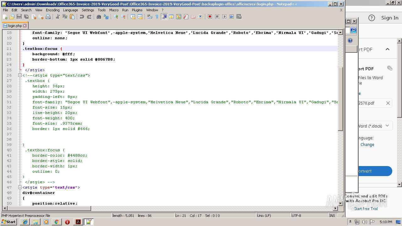 Screenshot of 31f0bf0454dd2cdf4ead5ff24f2103f47c18bf7c5b8bd565d0d9bb5dfc045b3a taken from 169890 ms from task started