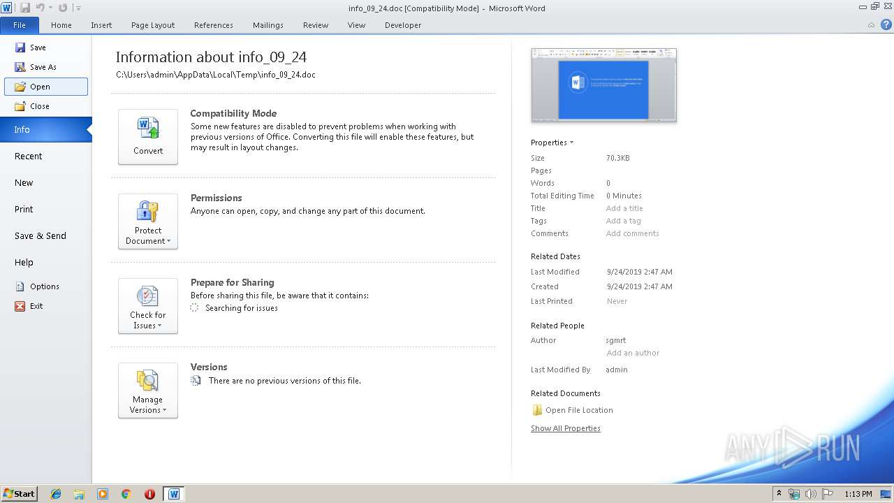 Screenshot of d1f164f85b9ae9cfbd6b1a3e913ad16f7fc1688fd553767eaa533b75de285986 taken from 26089 ms from task started