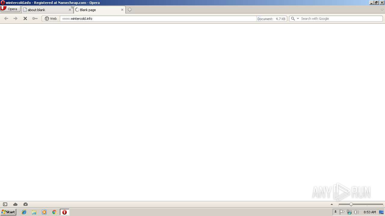 Screenshot of unknown taken from 19967 ms from task started