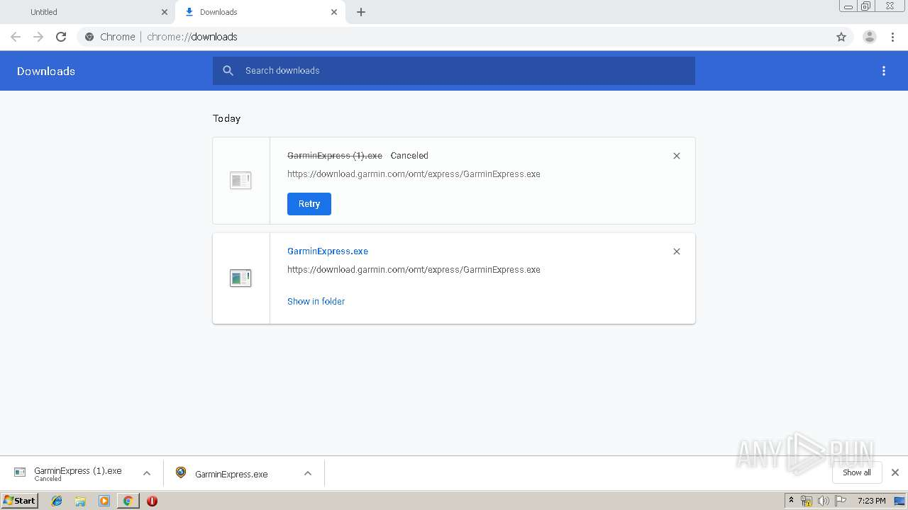 Screenshot of unknown taken from 154968 ms from task started