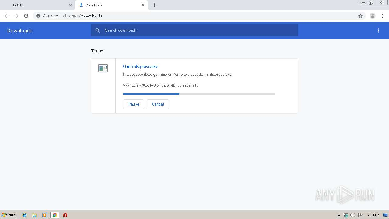 Screenshot of unknown taken from 41597 ms from task started