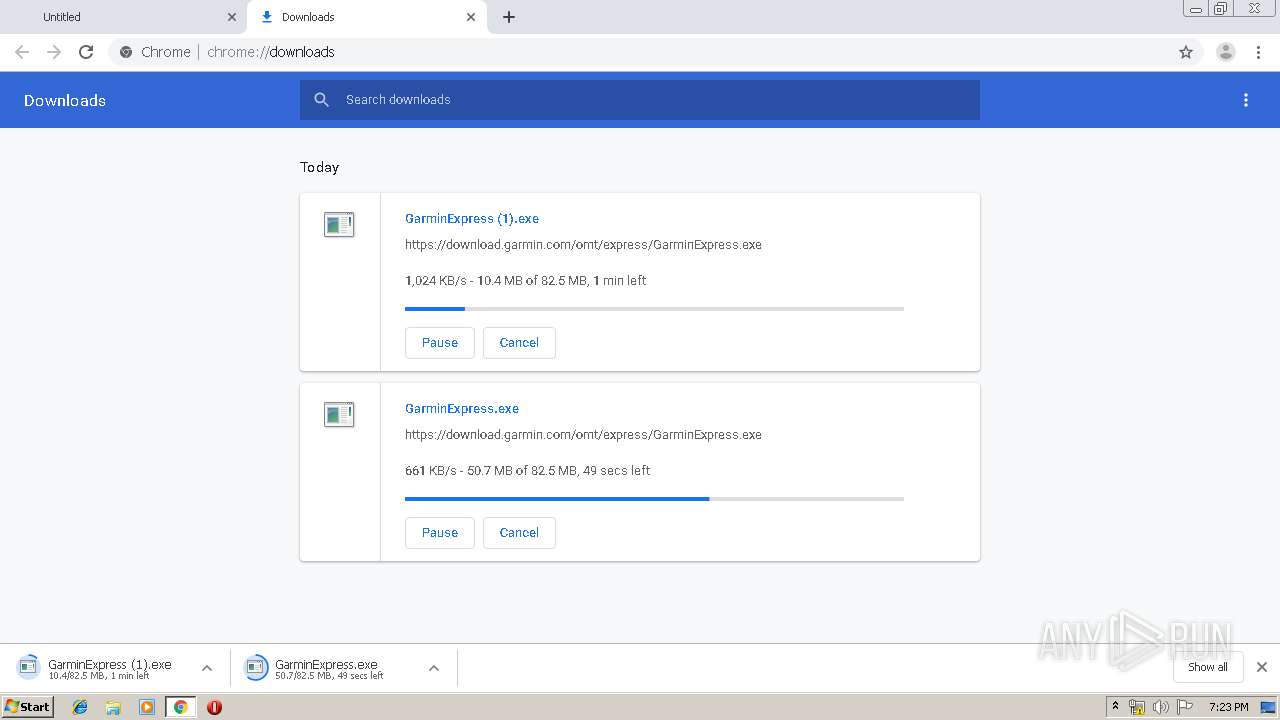 Screenshot of unknown taken from 124906 ms from task started