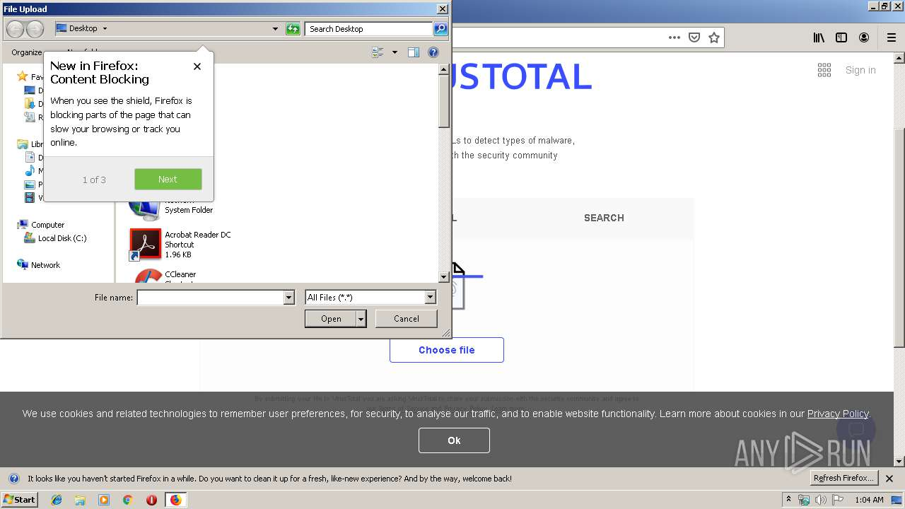Screenshot of unknown taken from 50964 ms from task started