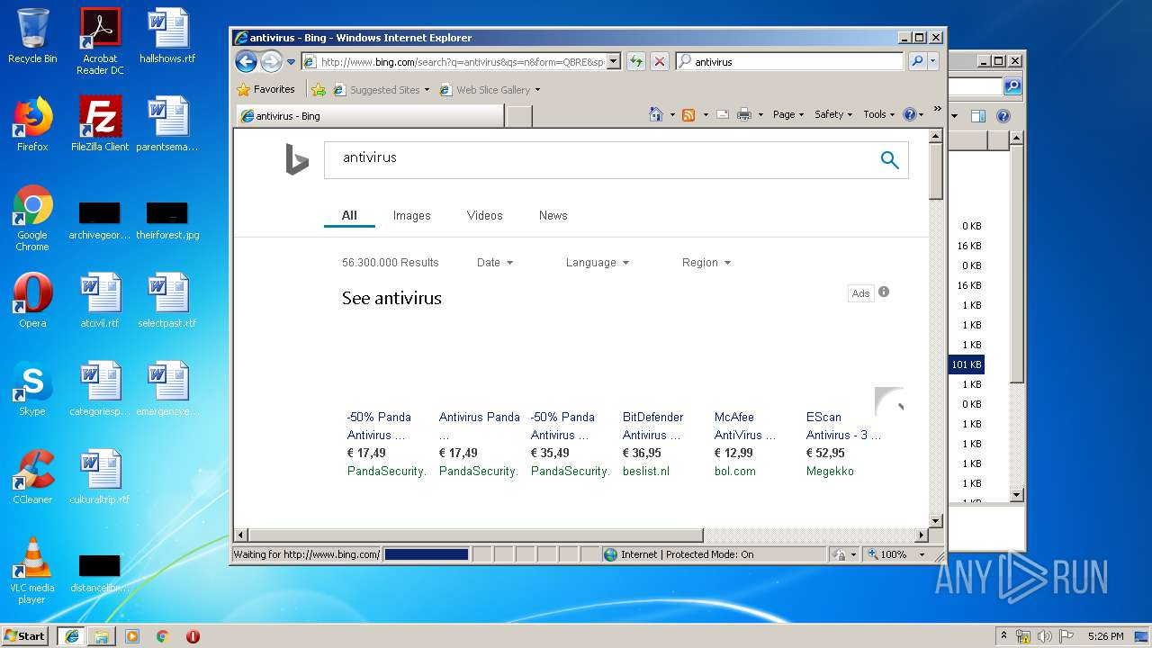 Screenshot of 56947c93fb17d3339ff2a778556f4a4f95516fb5112db61ae0804ecdcf4d1307 taken from 109054 ms from task started