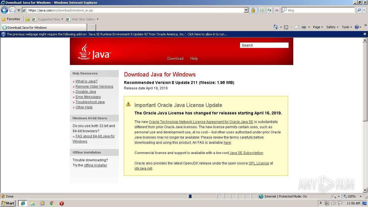 Java 8 Update 211 Download