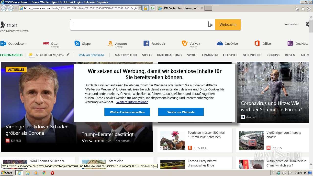 Msn anmelden www de Anmelden bei