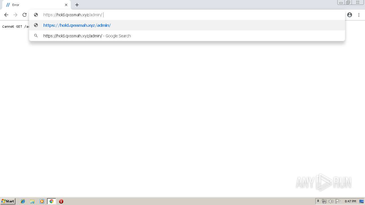 Screenshot of unknown taken from 135049 ms from task started