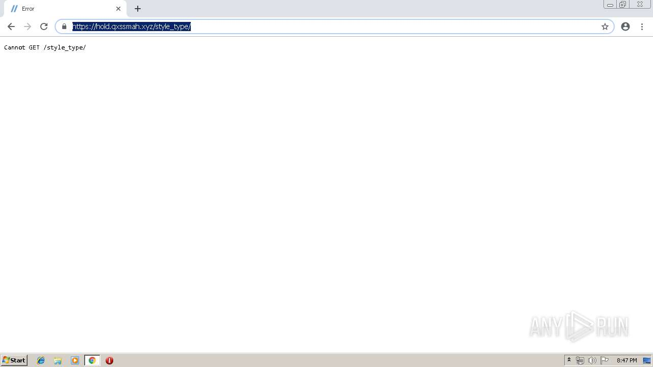 Screenshot of unknown taken from 109927 ms from task started