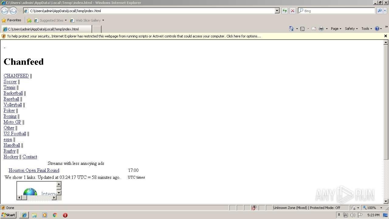 Screenshot of 6d2ee3ca3b7bfda7626c76d303bcdb0daeb8038675cc6d379398a91fd5d88207 taken from 43921 ms from task started