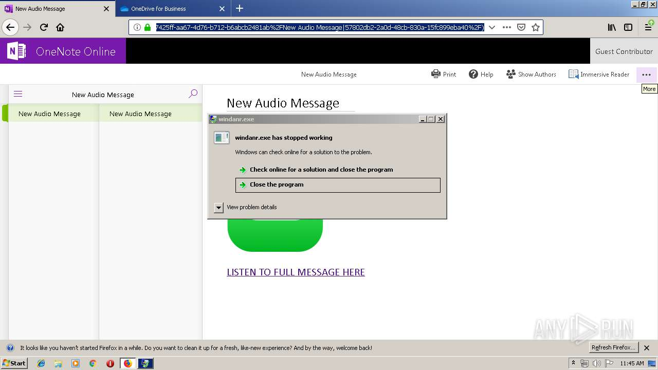 Screenshot of unknown taken from 53571 ms from task started