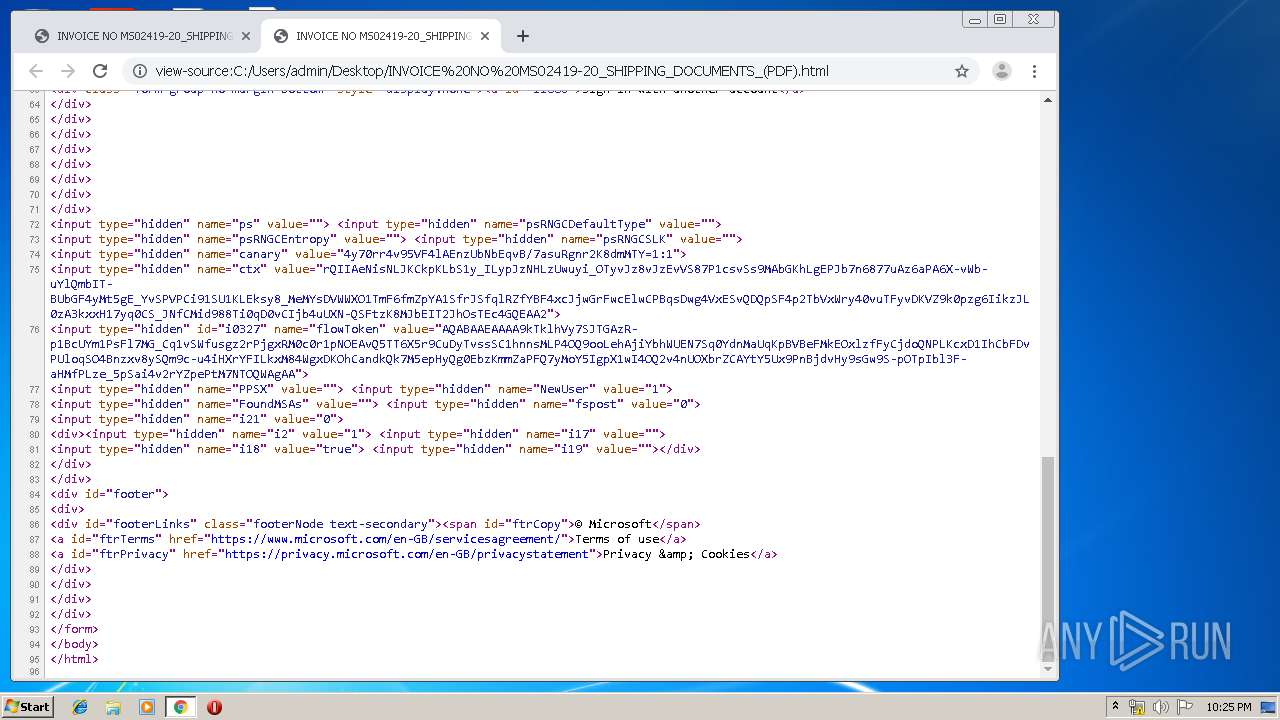 Screenshot of a5763aa4c1b42a5303e0329d227fce3849cbbf13c20593003ce2215d2daea31a taken from 98193 ms from task started