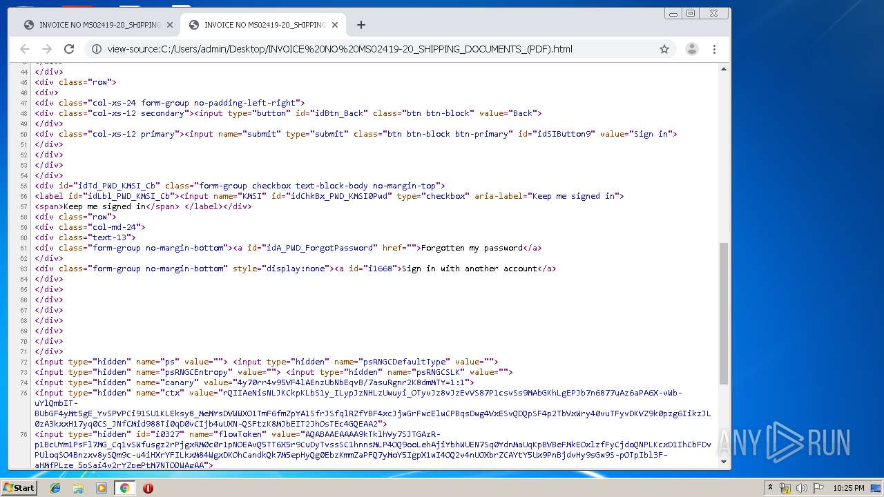 Screenshot of a5763aa4c1b42a5303e0329d227fce3849cbbf13c20593003ce2215d2daea31a taken from 97174 ms from task started