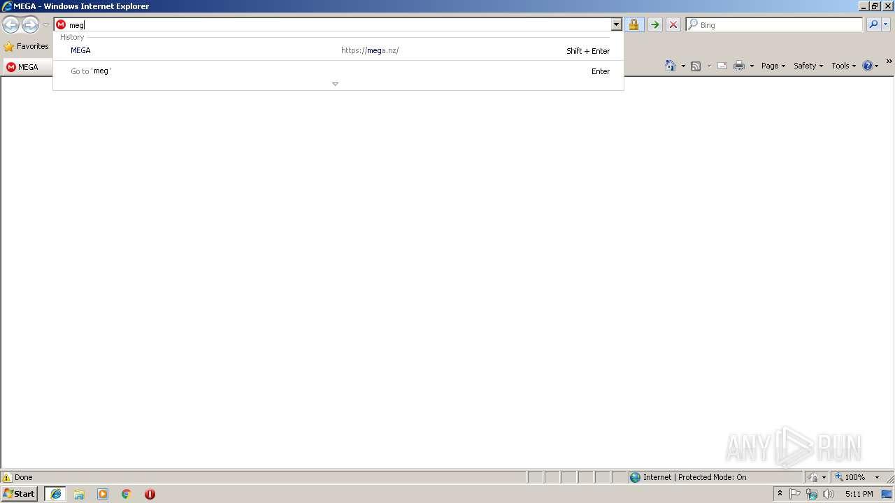 http://mega nz | ANY RUN - Free Malware Sandbox Online