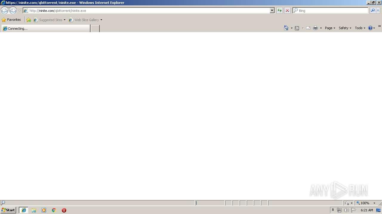 http://ninite com/qbittorrent/ninite exe   ANY RUN - Free Malware
