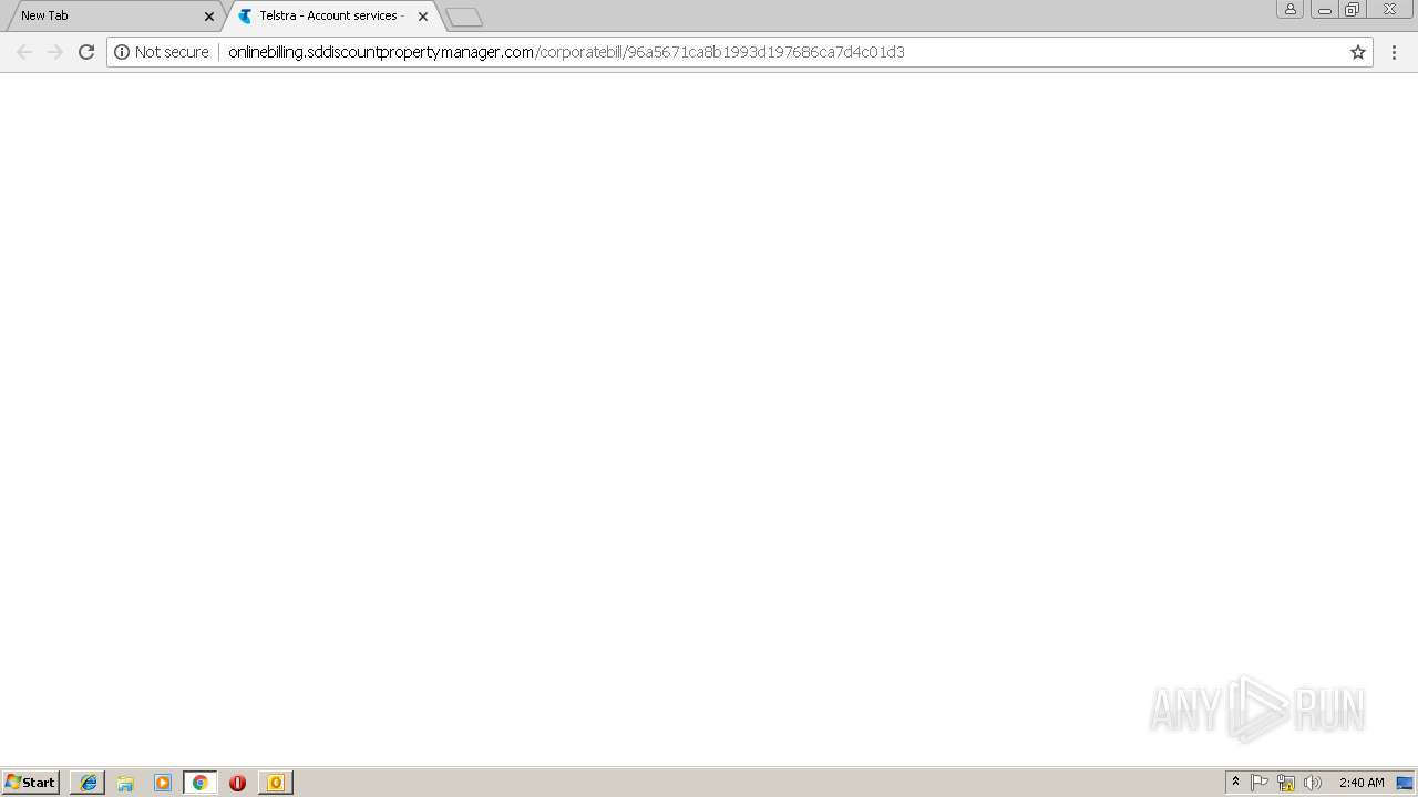 Screenshot of a9fdc40ecdb76a5cf60a70853d08cccb3b024509ad66a87734c95ac2eeb96507 taken from 124000 ms from task started