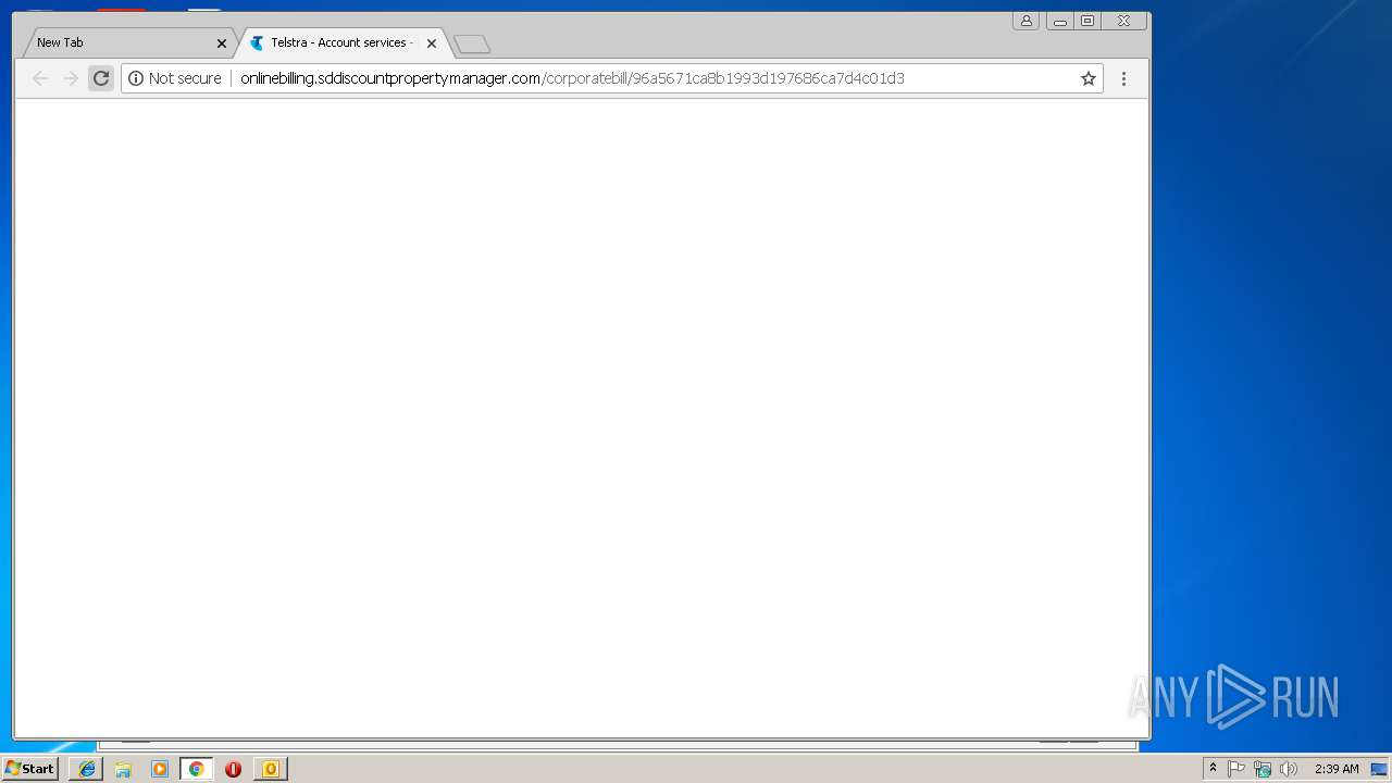Screenshot of a9fdc40ecdb76a5cf60a70853d08cccb3b024509ad66a87734c95ac2eeb96507 taken from 60424 ms from task started