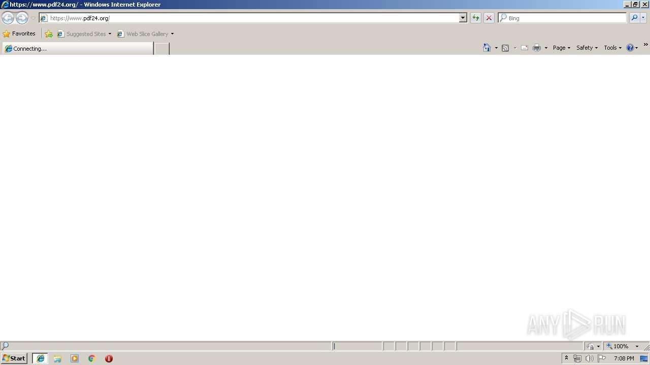 https://www pdf24 org   ANY RUN - Free Malware Sandbox Online