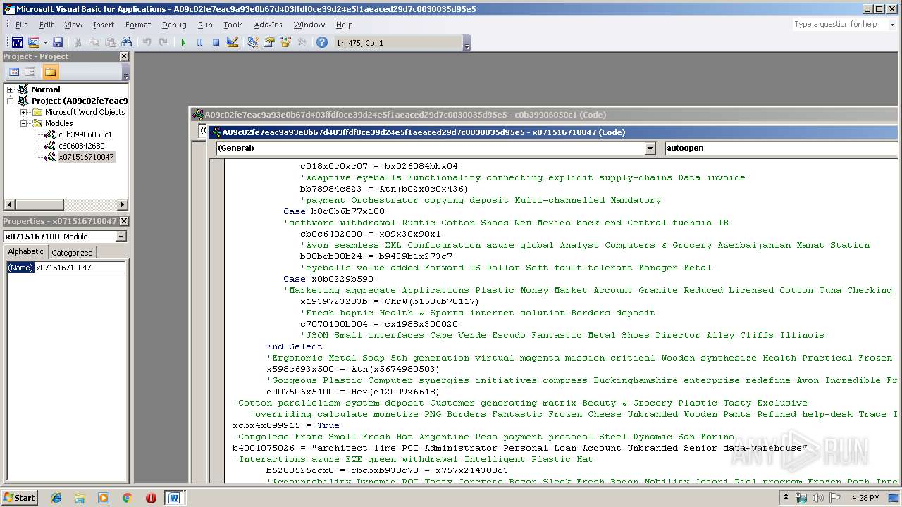 Screenshot of a09c02fe7eac9a93e0b67d403ffdf0ce39d24e5f1aeaced29d7c0030035d95e5 taken from 55406 ms from task started