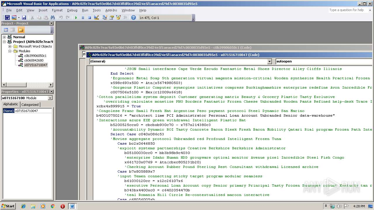 Screenshot of a09c02fe7eac9a93e0b67d403ffdf0ce39d24e5f1aeaced29d7c0030035d95e5 taken from 58438 ms from task started