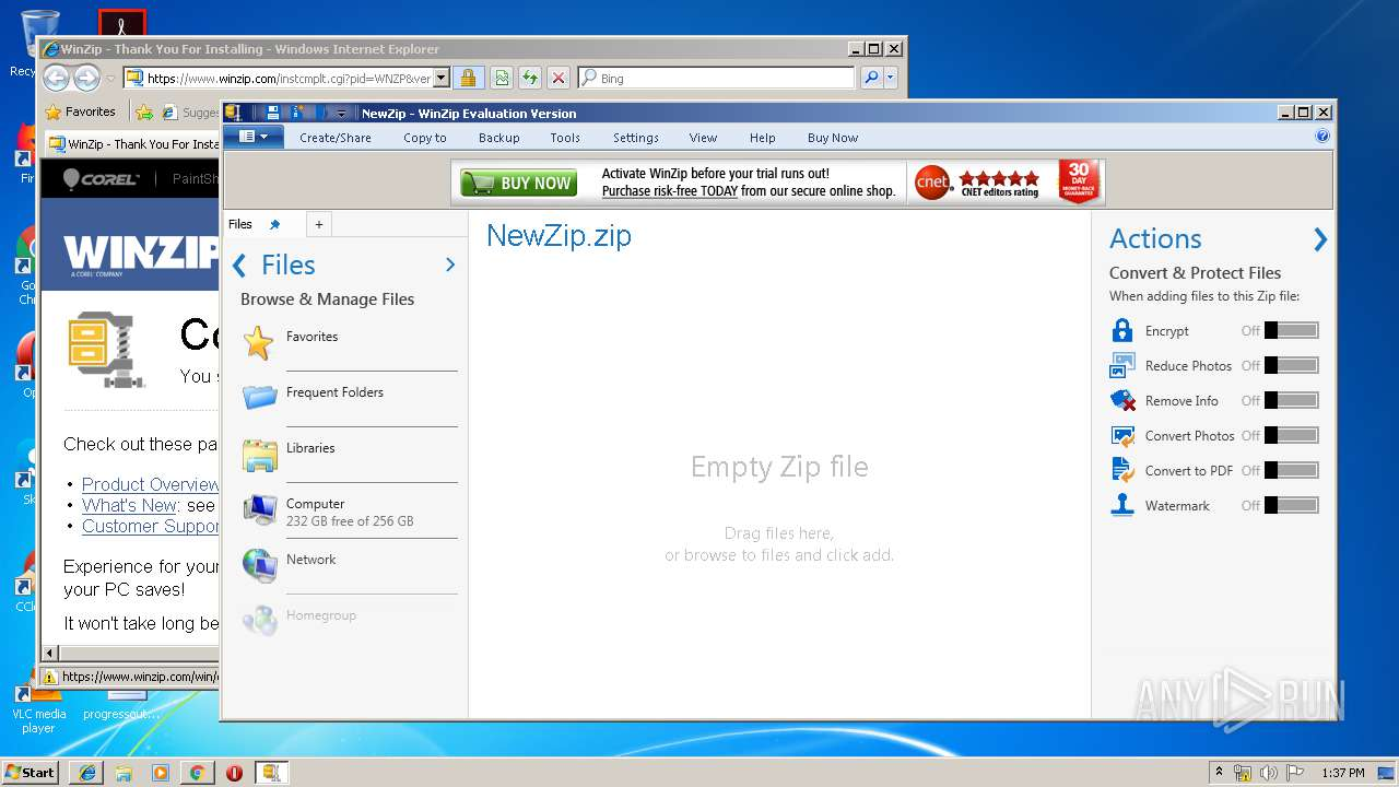 http://download winzip com/gl/nkln/winzip23-downwz exe | ANY RUN