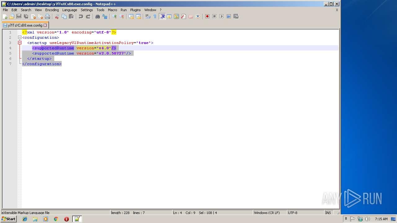 Screenshot of 3121427d2d782f32bb8fc9383a27e7c1db7f61d67ed1f57a619bb6ed4da662fe taken from 37991 ms from task started