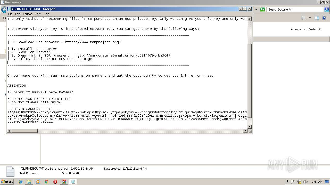 Screenshot of 500aa7d4af5c2792d5c5b6ee4dba12b7fbacc48f8f6d19b8b725813f034cda34 taken from 149228 ms from task started