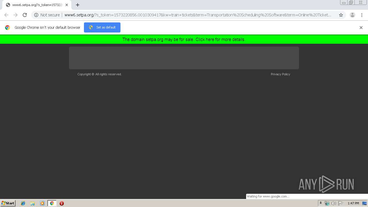 Screenshot of unknown taken from 50734 ms from task started