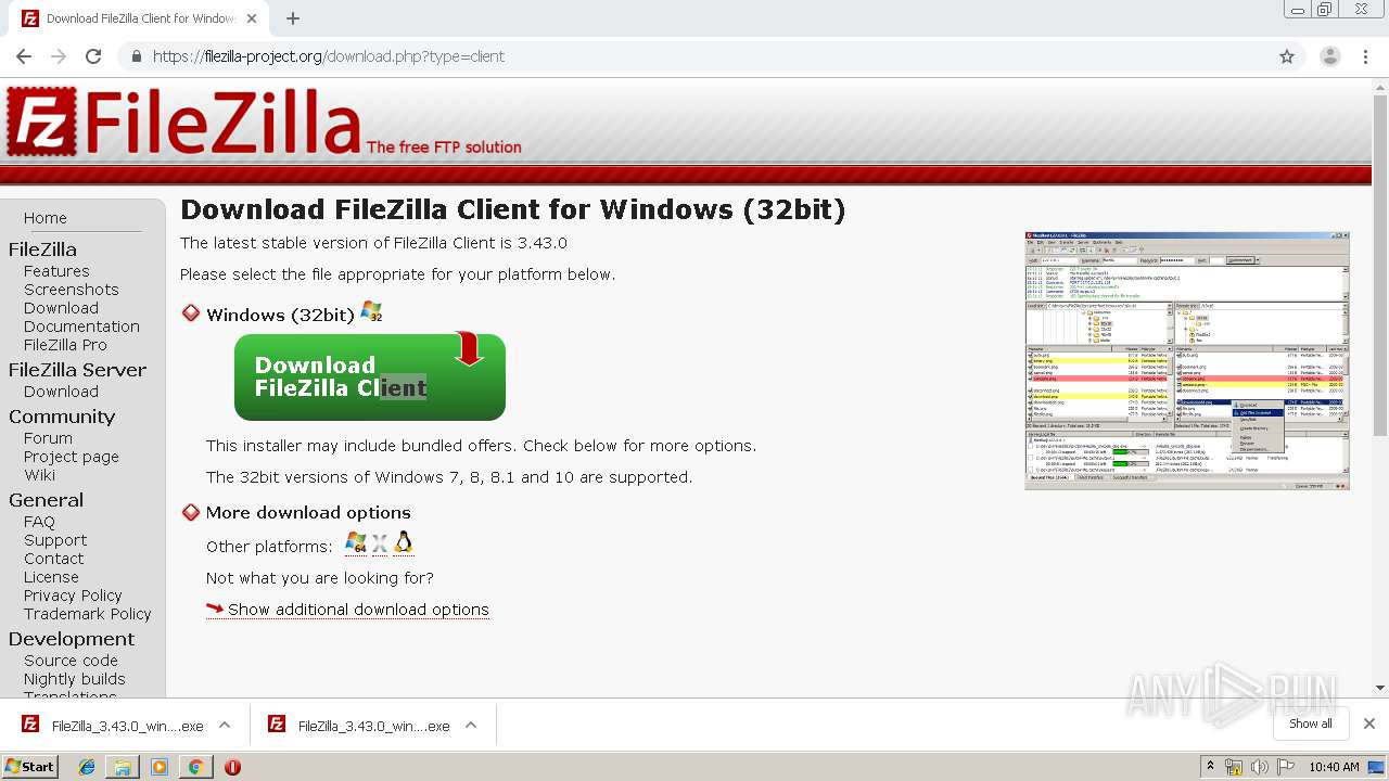 https://filezilla-project org/download php?platform=win64